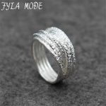 Fyla Mode Silver Rings for Women Engagement Wedding Ring <b>Antique</b> Thai Silver Rings Pure 925 Sterling Silver Fashion <b>Jewelry</b>