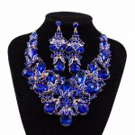 Luxury Crystal Dubai Gold Color African Beads <b>Jewelry</b> Set Wedding <b>Accessories</b> African Nigeria Necklace Earrings Sets