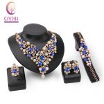 Fashion Necklace Earrings Ring Simulated Pearl Crystal <b>Jewelry</b> Sets For Women Wedding Bridal Party <b>Accessories</b> Sets