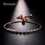NEWBARK Bracelet Femme Women Bracelets Rose Gold Color Infinite Bracelet Love <b>Accessories</b> OL Style Hand Chain Gift Charm <b>Jewelry</b>