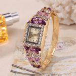 Sloggi women Quartz Watch Medieval Palace style 3D flower Mediterranean Wristwatch ladies relogio feminino <b>Jewelry</b> Casual Watch