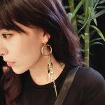 Tassel Drop Earrings Fashion <b>Jewelry</b> For Women <b>Antique</b> Gold Color Alloy <b>Jewelry</b> Gifts Statement Dangle Earrings Big Earrings