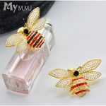 mymumu bee brooch female <b>accessories</b> Korean temperament jacket cardigan fashion wild clothes <b>jewelry</b> pin brooch