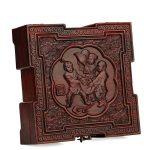 Rosewood crafts wood Affirmative Chinese <b>antique</b> jade <b>jewelry</b> box seal box