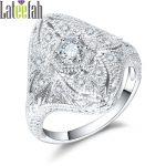Lateefah Vintage <b>Art</b> <b>Deco</b> Luxury Rings for Women Retro Filigree Women Crystal Cubic Zirconia Engagement Wedding <b>Jewelry</b> Ring