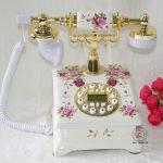 Authentic ceramic <b>antique</b> European Garden Fashion retro <b>jewelry</b> ornaments household fixed landline telephone Decoration home