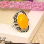 100% 925 Sterling-Silver-<b>Jewelry</b> Adjustable Oavl Ring Blank Fit 13.5*18MM Setting Gemstone Tray <b>Antique</b> Silver Plate