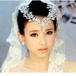 New Heapieces and Earrings Set luxury Pearl Bridal <b>Jewelry</b> Sets Women Jewellery Vintage Wedding Hair <b>Accessories</b>