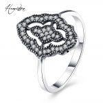 Hemiston Luxury <b>Antique</b> 100% 925 Sterling Silver Geometric Rings Micro CZ Brand Rings for Women Wedding <b>Jewelry</b> PAR165