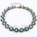 xl00394 Juice <b>Jewelrys</b> Goody Necklace Set <b>Antique</b> Floral Bib England Style