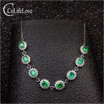 Classic <b>silver</b> emerald wedding bracelet 8 pcs real natural emerald bracelet 925 <b>sterling</b> <b>silver</b> emerald <b>jewelry</b> gift for woman