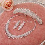 New <b>jewelry</b> necklace bride wedding <b>jewelry</b> three-piece wedding <b>accessories</b> wholesale pearl <b>jewelry</b>