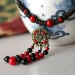 Bohemian <b>jewelry</b> beads <b>antique</b> bronze pendant /pingentes necklace women accessories wholesale/colar collier/bijoux/colgante