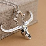 Deer King <b>jewelry</b> wholesale S925 Sterling Silver Pendant Silver <b>Antique</b> Crafts big bull fashion personality