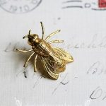 Vintage Victorian <b>Antique</b> Brass Pin Brooch Hornet Pins Brooches <b>Jewelry</b> Accessories