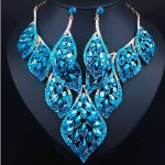 New Arrival African Beads <b>Jewelry</b> Sets Wedding Dress <b>Accessories</b> Necklace Earring Set For Brides Women <b>Jewelry</b> 2016