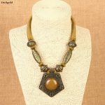 Vintage Geometric Choker Pendant Necklace For Women <b>Jewelry</b> Ethnic <b>Antique</b> Gold Wrap Cord Femme Necklace <b>Jewelry</b> Duftgold