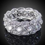 Bella Fashion Art Deco Bridal Bracelet Bangle Clear Austrian Crystal Wedding Bracelet For Bridesmaid <b>Accessories</b> Party <b>Jewelry</b>
