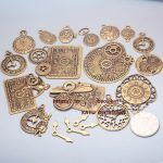 Timepieces Clock Hands Steampunk Vintage DIY Handmade Alloy <b>Jewelry</b> Accessories Decorations
