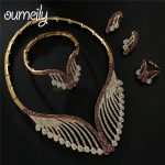 OUMEILY Fashion <b>Jewelry</b> Sets Womens <b>Accessories</b> luxury Big Nigerian <b>Jewelry</b> Set For Women African Dubai Wedding Jewellery Set