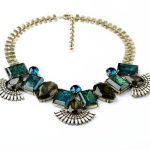 Chic <b>Jewelry</b> 2014 Noble Rhinestone Chunky Statement Necklace with <b>Antique</b> Gold Color Chain Necklaces Pendants <b>Jewelry</b>