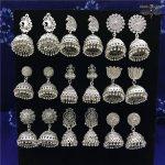 India Birdcage Earrings Handmade <b>Antique</b> Silver Tribal <b>Jewelry</b> BOHO Hippie Wind Pakistani Muslim Thailand Nepal Turkey Gypsy