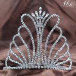 Butterfly Tiaras Diadem Pageant Crowns Clear Crystal Rhinestones Diamante Headpiece Party Costumes <b>Art</b> <b>Deco</b> Fashion <b>Jewelry</b>