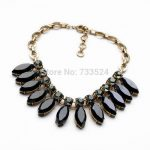 2014 Newest Simple Nice <b>Antique</b> Resin Stone Statement Pendant Necklace Trendy Fashion <b>Jewelry</b> for Women