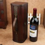 Wooden <b>Antique</b> Wine Accessories Gift Loaded Wood Box Wine Packaging Boxes Homebrew Plant Home Bar Film storage box organize