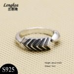 Men rings,Personality 925 sterling silver ring retro ARROW opening ring men's fashion silver <b>accessories</b> quality <b>jewelry</b>