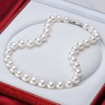 NYMPH 11-12mm Round Natural Pearl <b>Jewelry</b> Choker Necklace Real Freshwater Maxi Flaws Pearl Luxurious Wedding Gift For Women X303