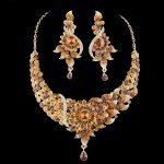 India <b>Jewelry</b> Bridal <b>Jewelry</b> sets women wedding Party necklace earrings set rhinestone peacok style Dress <b>jewelry</b> <b>accessories</b>
