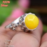 100% 925 sterling-silver-<b>jewelry</b> Adjustable Ring Blank Fit with 10MM Setting Round Stone <b>Antique</b> Silver Classical platin