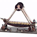 Iron <b>antique</b> <b>jewelry</b> ornaments Home Furnishing pirate ship playground decoration bar restaurant decoration creative birthday gif