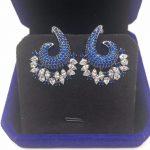 Unique Luxury L Design AAA Cubic Zirconia Stud Earrings Ear <b>Accessories</b> For Women Wedding <b>Jewelry</b>