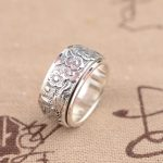 Deer King <b>jewelry</b> wholesale sterling silver ring S925 silver <b>jewelry</b> with <b>antique</b> style transfer