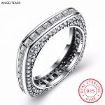 Vintage Design 925 Sterling Silver Square 4A Zircon Finger Ring Woman Girl Fine Party <b>Accessories</b> <b>Jewelry</b> Christmas Gifts anel