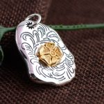 Deer King <b>jewelry</b> wholesale S925 Sterling Silver Pendant Silver <b>Antique</b> big new fashion personality of ICBC