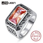 <b>Antique</b> 11.28g 6.75ct Morganite <b>Jewelry</b> Rings 100% 925 Silver Unisex Ring For Women Men or Couple Size 6 7 8 9 10 11 Gift Packed