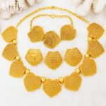 2018 Dubai Fashion 24 Gold <b>Jewelry</b> Sets Hollow Design Necklace Bracelet Earrings Charm Women Wedding <b>Jewelry</b> <b>Accessories</b>