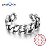 New Women Real 925 Sterling Silver Ring Bead Opening <b>Antique</b> Chains Vintage Style Decorations <b>Jewelry</b> Gift JewelOra RI102706