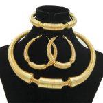 2018 Charm Women <b>Jewelry</b> Sets Big Necklace Earrings Ring Bracelet Gold Fashion Queen <b>Jewelry</b> African Bride <b>Jewelry</b> <b>Accessories</b>