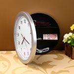 Creative Hidden Secret Safe Box Wall Clock Safe Box Wall-Mounted Hanging Key Cash Money <b>Jewelry</b> Storage Security Box Home Decor