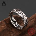 S925 Sterling Silver adjustable <b>antique</b> unique hand-woven men and women couple ring Thai silver fashion Lady Ring <b>jewelry</b>