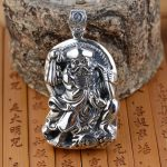 S925 silver <b>jewelry</b> wholesale Silver <b>Antique</b> Style Mens Large stereo pendant explosion Lohan personality
