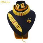Ethlyn New Big Wide Ethiopian Eritrean <b>Jewelry</b> Choker Sets Gold Color Stone <b>Jewelry</b> Sets African Women <b>Accessories</b> S096