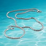 Stylish men's suit, 925 sterling silver necklace bracelet <b>Jewelry</b> Sets.width 5mm snake chain, handsome boy Clothing <b>accessories</b>