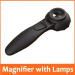 30X Handle Magnifier with 6pcs LED Lamps Illumination <b>Antique</b> Jade <b>Jewelry</b> Appraisal Magnifying Glass Loupe for Old Man Reading