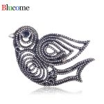 Luxury Vintage Brooch Bird Shape Hollow Out Special Texture <b>Antique</b> Gold Color <b>Jewelry</b> Pin Kids Women Clothes Decorations Gifts