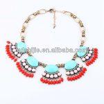 Trendy <b>Antique</b> Gold Statement Necklace Women with Rhinestone Pendant Brand <b>Jewelry</b>